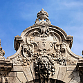 Habsburg Gate Details In Budapest by Artur Bogacki