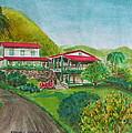 Hacienda Gripinas Old Coffee Plantation by Frank Hunter