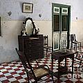 Hacienda Room Yaxcopoil Mexico by John  Mitchell