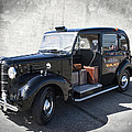 Hackney Carriage Austin Fx3 Of London C. 1955 by Daniel Hagerman