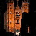 Hadleigh Deanery By Night by Linda Prewer