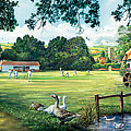 Hadlow Cricket Club by Steve Crisp