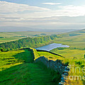 Hadrians Wall And Crag Lough by Tess Baxter
