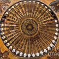 Hagia Sofia Ceiling by Antony McAulay