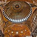 Hagia Sofia Interior 02 by Antony McAulay