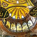 Hagia Sofia Interior 07 by Antony McAulay