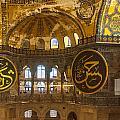Hagia Sofia Interior 15 by Antony McAulay