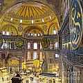 Hagia Sofia Interior 17 by Antony McAulay