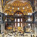 Hagia Sofia Interior 35 by Antony McAulay
