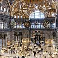 Hagia Sofia Interior 42 by Antony McAulay