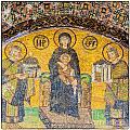 Hagia Sofia Mosaic 03 by Antony McAulay