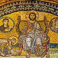 Hagia Sofia Mosaic 04 by Antony McAulay