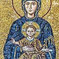 Hagia Sofia Mosaic 05 by Antony McAulay