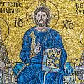 Hagia Sofia Mosaic 09 by Antony McAulay