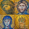 Hagia Sofia Mosaics by Antony McAulay