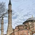 Hagia Sophia 07 by Antony McAulay
