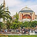 Hagia Sophia Istanbul 2013 by Lutz Baar