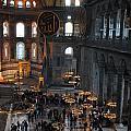 Hagia Sophia Panorama by Jacqueline M Lewis