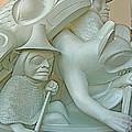 Haida Sculpture Closeup In Canadian Museum Of Civilization In Gatineau-quebec-canada by Ruth Hager