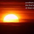 Haiku Sundown by Jeff Swan
