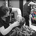 Hair Dresser - The First Cut by Lee Dos Santos