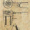 Hair Dryer Patent Art 1911 by Daniel Hagerman