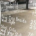 Hair Salon Sign by Randi Kuhne