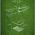 Hair Straightener Patent From 1909 - Green by Aged Pixel
