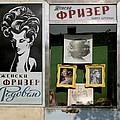 Hairdresser. Belgrade. Serbia by Juan Carlos Ferro Duque