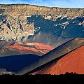 Haleakala Cinder Cones Lit From The Sunrise Within The Crater by Nature  Photographer