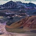 Haleakala Summit Crater by Geoffrey Ferguson
