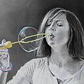 Bubble Girl by Glenn Beasley