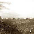 Half Dome From Glacier Point Yosemite Valley  California Circa 1910 by California Views Mr Pat Hathaway Archives