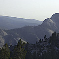 Half Dome From Olmsted Pt by Gene Norris