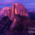 Half Dome Glow by Adam Jewell