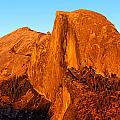 Half Dome Glow by Peter Tellone