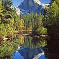 2m6709-half Dome Reflect - V by Ed  Cooper Photography