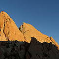 Half Moon At Garden Of The Gods by Gary Langley