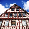 Half-timbered House 05 by Matthias Hauser