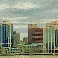 Halifax From The Harbour by Jeffrey Kolker