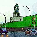 Halifax Historic Town Clock by John Malone Halifax photographer