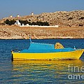 Halki Fishing Boat by David Fowler