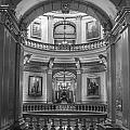 Hall In Michigan State Capital by John McGraw