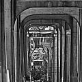 Hall Of Giants - Beneath The Aurora Bridge by Allen Sheffield
