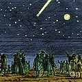 Halleys Comet 1682 by Science Source