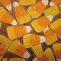Halloween Candy Corn by Kathy Marrs Chandler