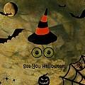 Halloween Eyes by Barbara S Nickerson