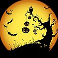 Halloween Haunted Tree by Gianfranco Weiss