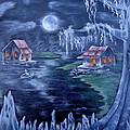 Halloween In The Swamp by Ruth Bares