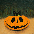 Halloween Kitty by Marna Edwards Flavell